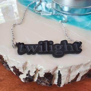 "RubiRocket Twilight necklace. Black 25"" L NWOT"